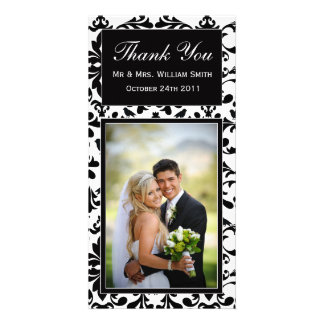 Wedding Thank You Card Photo Greeting Card