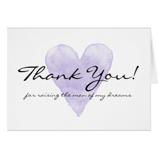 Wedding thank you cards invitations zazzle wedding thank you cards for mother in law junglespirit Image collections