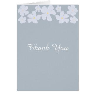 Wedding Thank You Cards Ice Grey Jasmine