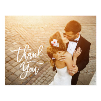 Wedding Thank You Cards Photocards Rustic Unique