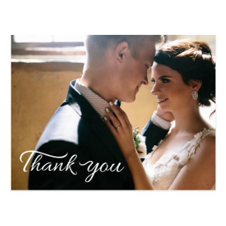 Wedding Thank You Greeting Card Postcard