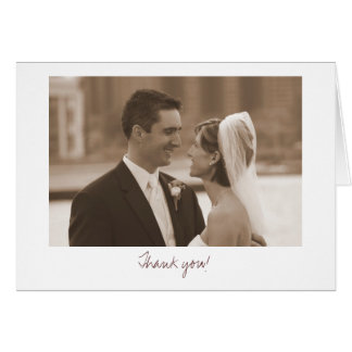 Wedding (Thank you!) Note Card