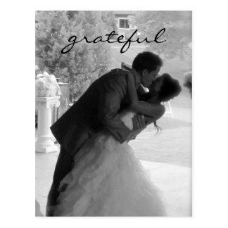 Wedding Thank You Note Postcard
