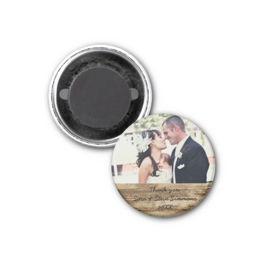Wedding Thank you Photo Magnet
