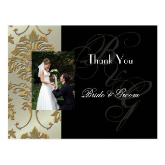 Wedding Thank you postcards insert your photo