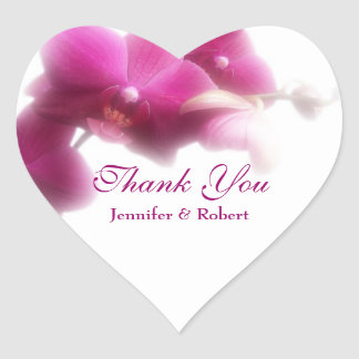 Wedding Thank You Sticker