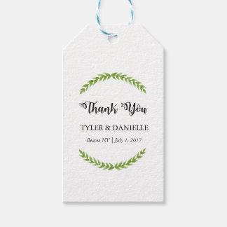 Wedding Thank You Tag