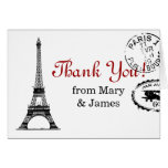 "Wedding ""Thank you"" Vintage Paris Postcard"