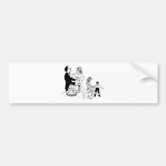 Wedding Themes 43 Bumper Sticker