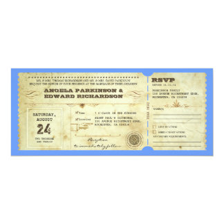 wedding ticket - change the background color card