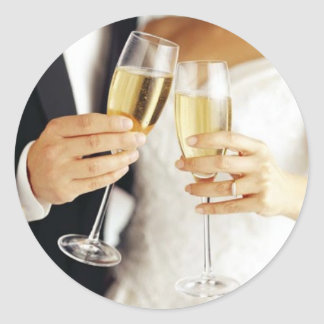 Wedding Toast Sticker