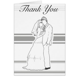 Wedding Together Thank You card
