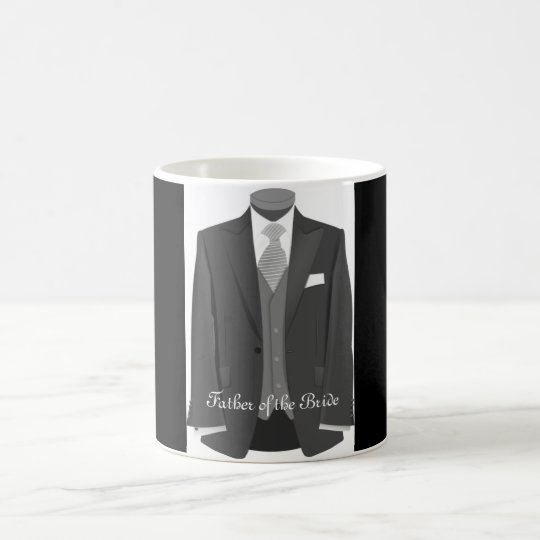 Wedding Tuxedo Father of the Bride Mug Gift