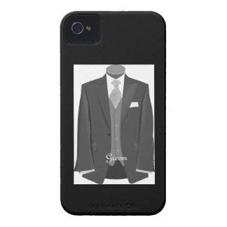 Wedding Tuxedo Groom iPhone 4 Case