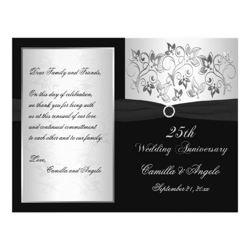 Wedding Vow Renewal Program - EMAIL for help Full Color Flyer