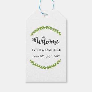 Wedding Welcome Tag