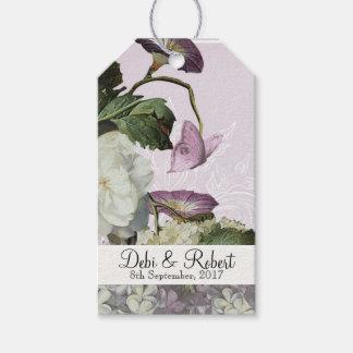 Wedding Wish Tree Tags Morning Glory Hydrangea