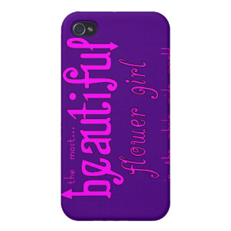 Weddings Favors & Tokens : Beautiful Flower Girl iPhone 4/4S Cases
