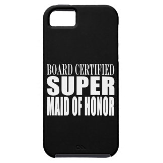 Weddings Favors Tokens Thanks Super Maid of Honor Tough iPhone 5 Case