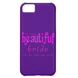 Weddings Parties & Bridal Showers Beautiful Bride Case For iPhone 5C