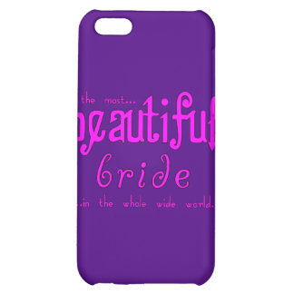 Weddings Parties & Bridal Showers Beautiful Bride Cover For iPhone 5C