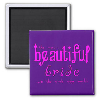 Weddings Parties Bridal Showers Beautiful Bride Magnet