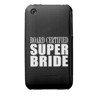 Weddings Parties & Bridal Showers : Super Bride iPhone 3 Covers