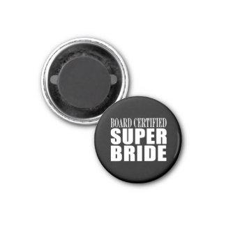 Weddings Parties & Bridal Showers : Super Bride Fridge Magnets