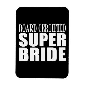 Weddings Parties & Bridal Showers : Super Bride Vinyl Magnets