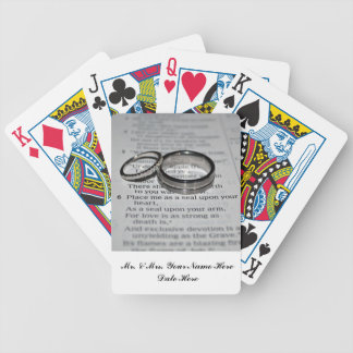 Weddings Rings Card Deck Bridal Party Gift