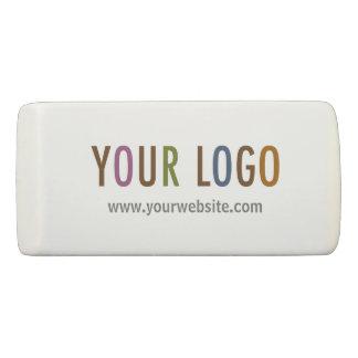 Wedge Eraser Custom Business Logo Promotional Swag
