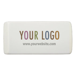 Wedge Eraser with Custom Company Logo No Minimum