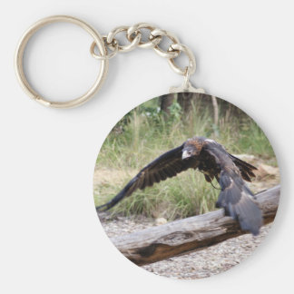 Wedge Tail Eagle Flying Key Ring