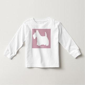 Wedgewoof Scottish Terrier Pink Toddler T-Shirt