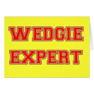 Wedgie Expert Card