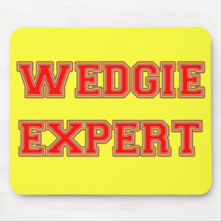 Wedgie Expert Mouse Pad