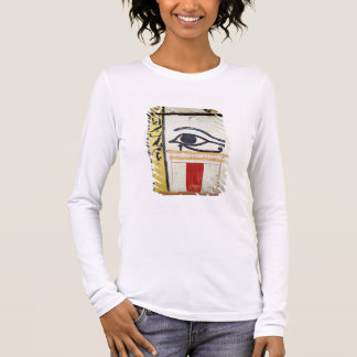Wedjat Eye, detail from the sarcophagus cover of t Long Sleeve T-Shirt