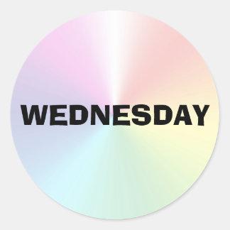 Wednesday Ad Lib Shimmer Sticker by Janz