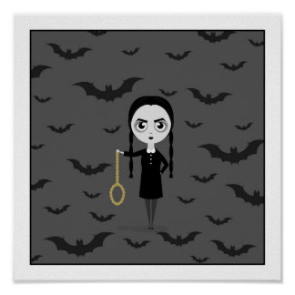 Wednesday Addams - for Cory Poster