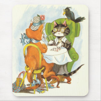 Wednesday Afternoon Cards Mouse Mat