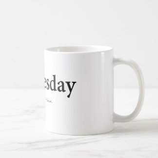 Wednesday Coffee Mug