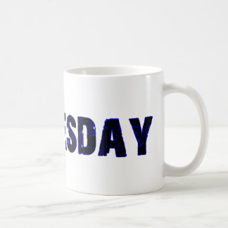 Wednesday Day of the Week Merchandise Coffee Mug