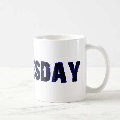 Wednesday Day of the Week Merchandise Mugs