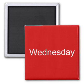 Wednesday Magnet