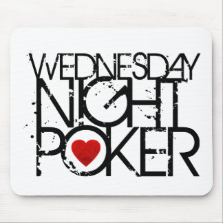 Wednesday Night Poker Mouse Mat