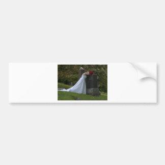 WedParentsGrave091810 Bumper Sticker