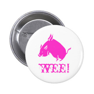 wee! pinback button