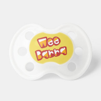 Wee Barra, Scottish Dialect Baby Pacifier, Scots Dummy