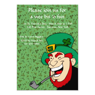Wee Bit 'o Fun St. Patrick's Party Invitation