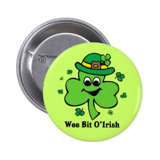 Wee Bit O' Irish 6 Cm Round Badge